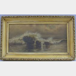Attributed to Charles Drew Cahoon (Cape Cod, Massachusetts, 1861-1951)      Seascape.
