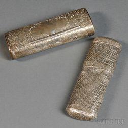 Victorian Silver Tobacco Box
