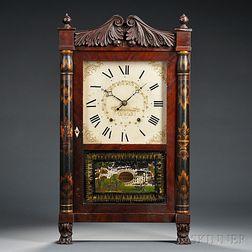 Mahogany Seth Thomas Transitional Shelf Clock