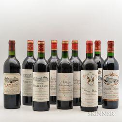 Mixed Bordeaux, 9 bottles