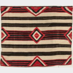 Navajo Weaving in a Third Phase Chief's Pattern