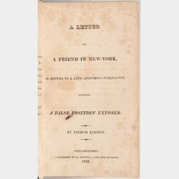Hicksite-Orthodox Controversy, a Collection of Fifteen Early 19th Century Pamphlets.