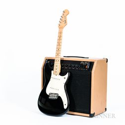 Electric Guitar, Amplifier, and Accessories
