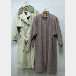 Two Pieces of Women's Outerwear