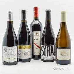 Mixed Worldwide Wines, 5 bottles
