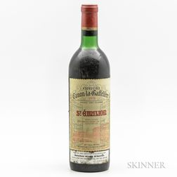 Chateau Canon La Gaffeliere 1970, 1 bottle