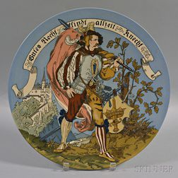Villeroy & Boch Mettlach Ceramic Charger