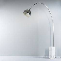 "Achille and Pier Giacomo Castiglioni for Flos ""Arco"" Floor Lamp"