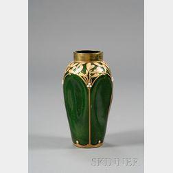 Mont Joye Art Nouveau Vase