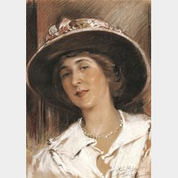 Eric L. (Frederic) Pape (American, 1870-1938)      Alice Monroe