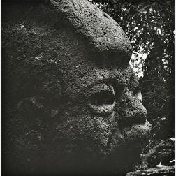 Aaron Siskind (American, 1903-1991)      Olmec, Villahermosa 20