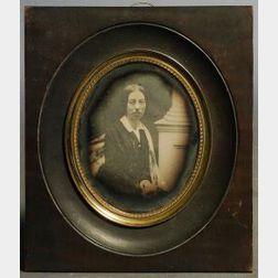 Daguerreotype of Lydia Wood Buckman