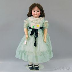 Large Simon Halbig 1260 Shoulder Head Doll