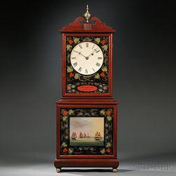 Lawrence Smith Reproduction Aaron Willard Shelf Clock