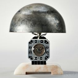 Cotna Art Deco Lamp Clock