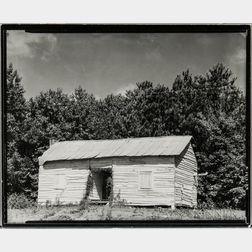Walker Evans (American, 1903-1975)       Cabin, Hale County, Alabama