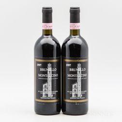 Canalicchio di Sopra Brunello di Montalcino Le Gode di Montosoli 1997, 2 bottles