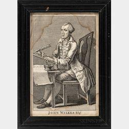 "Engraving of ""John Wilkes Esq.,"""