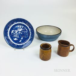 Group of Ceramic Tableware