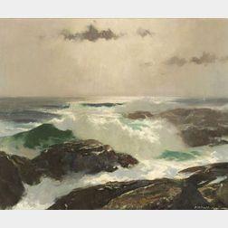 Harry Russell Ballinger (American, 1892-1994)  North Atlantic