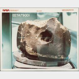 Meteorites, 1970s-1980s, Seven Photographs.