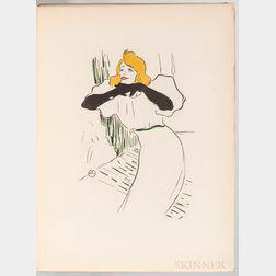 Roger-Marx, Claude (1888-1977) Yvette Guilbert Vue par Toulouse-Lautrec.