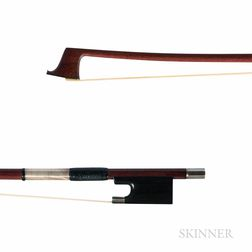 Silver-mounted Viola Bow, Finkel Workshop