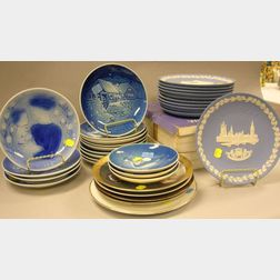 Thirty-three Assorted Porcelain Collector Plates