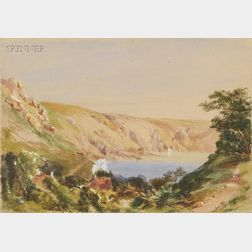 Charles E. Hannaford (British, 1863-1955)      Lake View