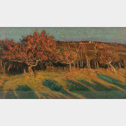 Edward Francis Rook (American, 1870-1960)      Autumn Landscape