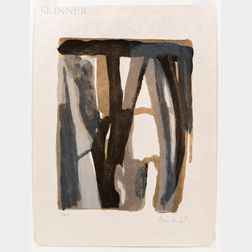Bram van Velde (Dutch, 1895-1981)      Untitled