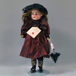 Bisque Head Girl Doll