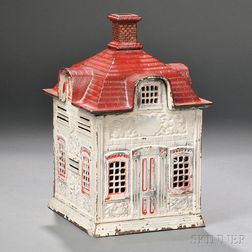 Cast Iron Architectural Still Bank