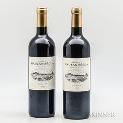 Chateau Rauzan Segla 2005, 2 bottles