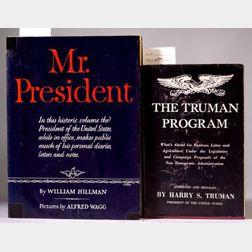 Truman, Harry S. (1884-1972), Signed copies