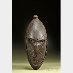 New Guinea Carved Wood Mask