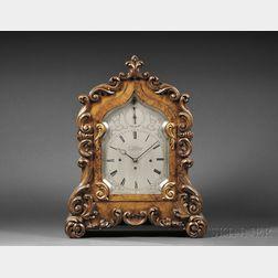 Aaron Sellman Kingwood Quarter-chiming Library Clock