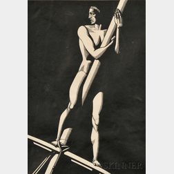 Rockwell Kent (American, 1882-1971)      The Lookout