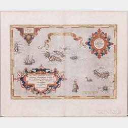Azores. Abraham Ortelius (1527-1598) Açores Insulae.