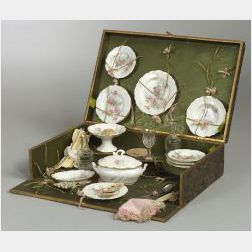 Boxed French Child's China Tea Service