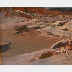Charles J. Movalli (American, b. 1945)      Jackson, New Hampshire