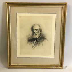 Framed Print of Robert E. Lee