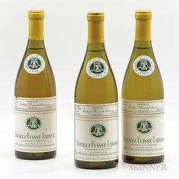 Louis Latour Pouilly Fuisse 1988, 3 bottles