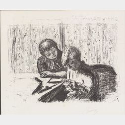 Pierre Bonnard (French, 1867-1947)    La Lettre