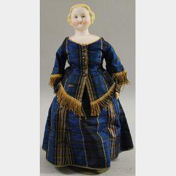 Blonde Parian Lady Doll