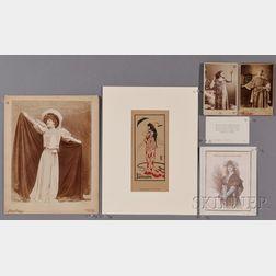 Bernhardt, Sarah (d. 1923) Archive: