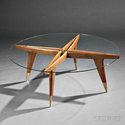 Gio Ponti (Italian, 1891-1979) Compass Table