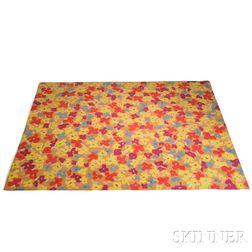Edward Fields Pop Art Floral Carpet