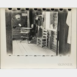 Walker Evans (American, 1903-1975)       Kitchen in Floyd Burroughs's Home, Hale County, Alabama