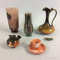 Seven Pieces of American Ceramics